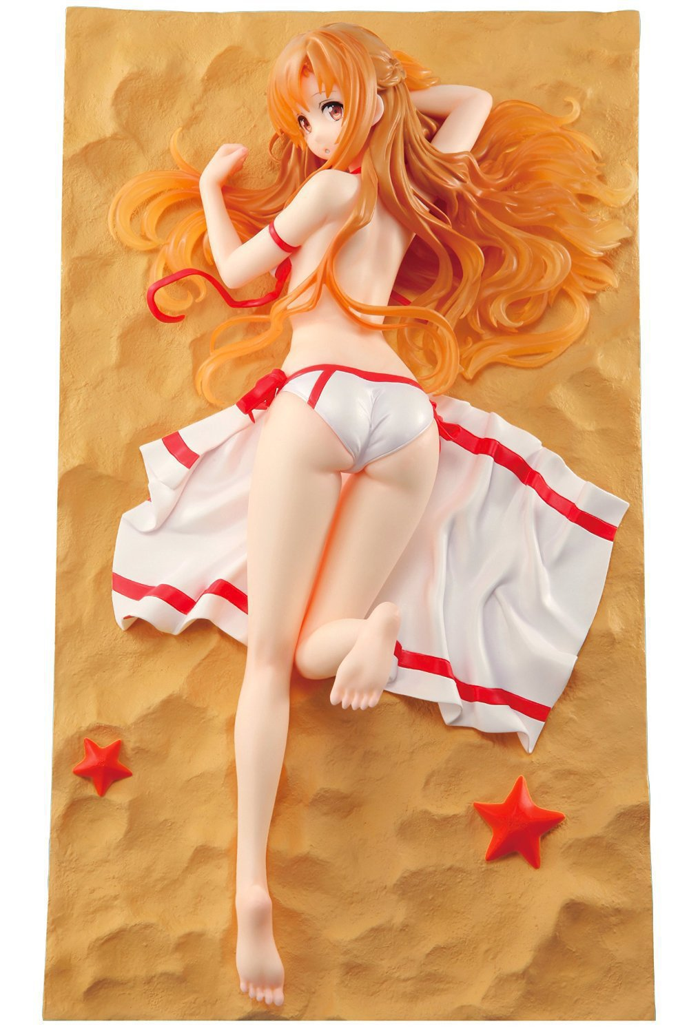 Huong Anime Figure 26 CM Sword Art Online Asuna 1/6 Scale Sexy Pre-Painted Figure Collectible Model Toy<br>