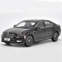 1:18 All New Skoda Superb Alloy Diecast Metal Car Model Toy For Kids Gifts Toy Collection Free Shipping(China)