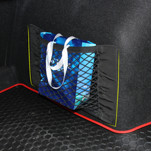Car styling , Car Boot Cargo Net Magic Sticker Luggage Mesh Oganizer Bag For Audi A1 A3 A4 A5 A6 A7 A8 Q2 Q3 Q5 Q7 R8 S4 S5 TT