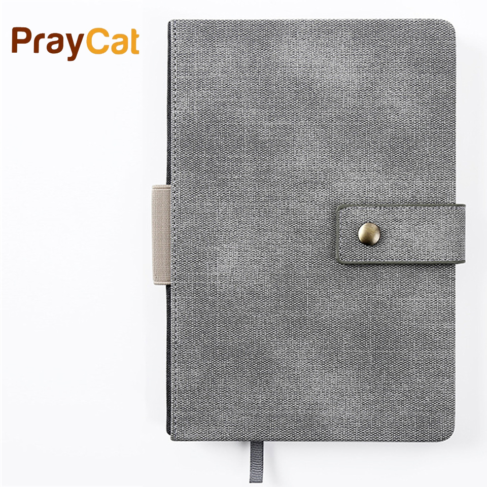 A5 Notebook Diary Leather Writing 180sheets Planner Journal Notebook Stationery For Students Stationer Custom Logo <br>