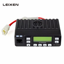 Leixun VV-898S Mini Mobile Radio 25W Transmit Power Supet Small Transceiver & Microphone 136~174MHz/400-480MHz Car Scanner(China)