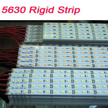 Led Rigid Light 12V DC 5730 5630 18W/M Hard Strip Light 72 SMD Showcase Home Party Industrial Lamp 100m/lot(China)