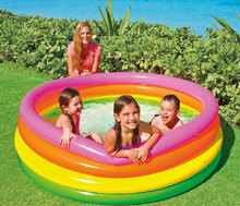 61cm,86cm,114cm,147cm,168cm Intex swimming pool,  inflatable bottom, baby pool, child pool,
