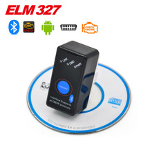 Mini switch ELM327 Bluetooth OBD2 OBD II CAN-BUS Diagnostic Tool+Switch Works on Android Symbian Windows(Hong Kong)
