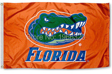 College Florida Gators Flag UF Orange Banner Large NCAA 3ft x 5ft 144* 96cm Custom flag