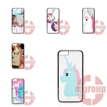Phone Case Cover pink unicorn silicone For Motorola Moto X Play X2 G G2 G3 G4 Plus E 2nd 3rd gen Razr D1 D3 Z Force