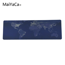 Large Gaming Mouse Pad World Map Mouse Pad Desk Pad Keyboard For Dota CS 300x900 and 400x900cm size big mouse pad