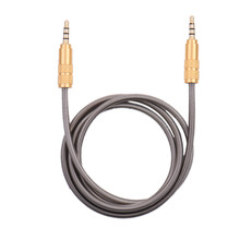 New Aux Audio Cable 3.5mm to 3.5 mm Jack Male to Male Metal Head Elastic Spring Auxiliary Cord for Mobile Phones Car Speaker