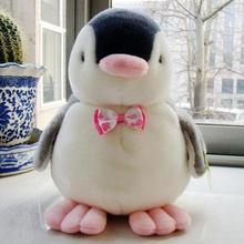 Cute Penguin Kids Plush Toy Voice Stuffed Animal Toy Doll Cushion Children Gift