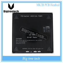 Black Color New RepRap 3D Printer PCB Heatbed MK2B Heated Bed Hot Plate For Prusa&Mendel MK2A  for 3D Printer parts