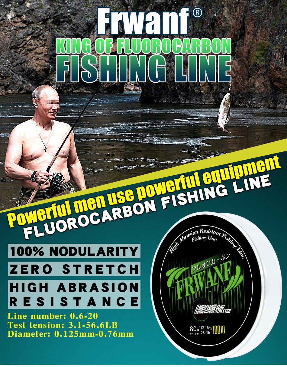 Monofilament Fishing Line Fluorocarbon (1)