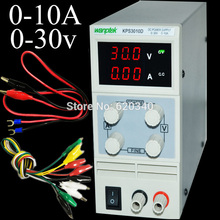 EU plug New Design Mini Switching Regulated Adjustable Digital DC Power Supply SMPS 30V 10A + Gift