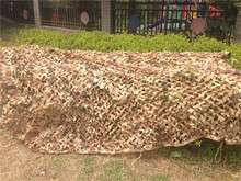 2x3M Military Desert Camouflage net Camo netting Sun Shade for Out door Hunting Camping Free Shipping(China)