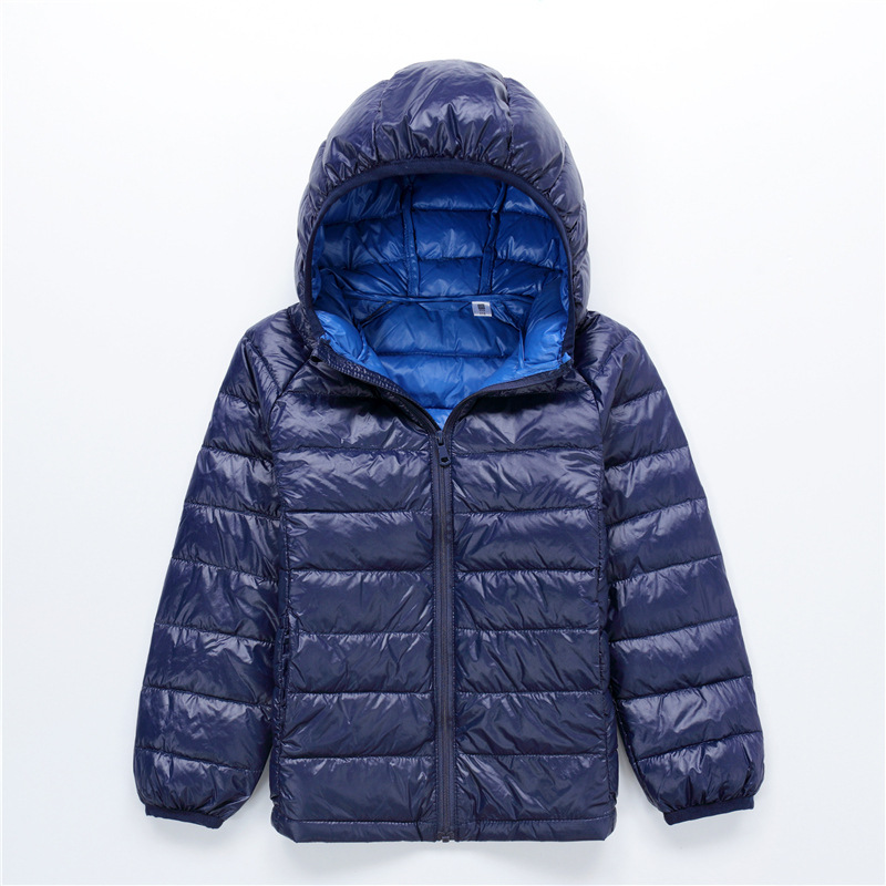 Doudoune femme fourrure Boys parka Children coat Kids Hooded down Jacket Girls winter coats doudoune fille Contrast color liningÎäåæäà è àêñåññóàðû<br><br>