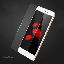 9H Tempered Glass Screen Protector For ZTE Nubia Z7 Verre Protective Toughened Film For ZTE Nubia Z7 Temper Protection Trempe(China)