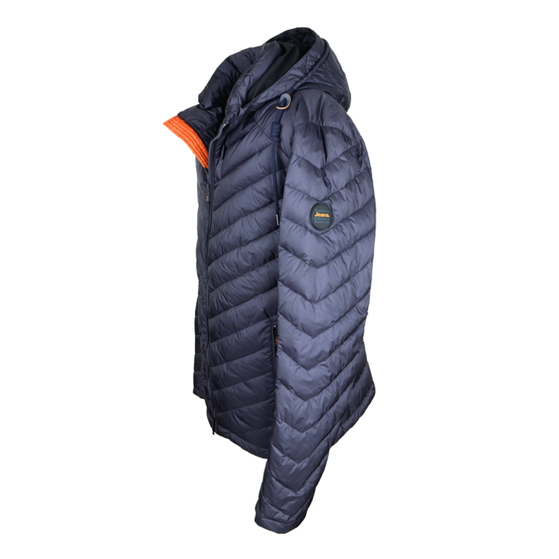 TIGER FORCE 2017 New Collection Men's Casual Padded Jacket Hooded Thin Cotton Padding Coat Detachable Hood Free Shipping 51503