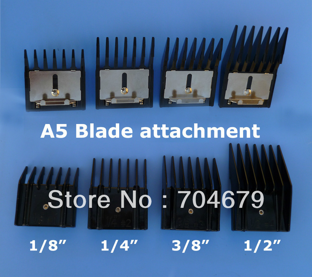 Pet clipper blade +attachment comb standard size fit for professional oster A5 blade<br><br>Aliexpress