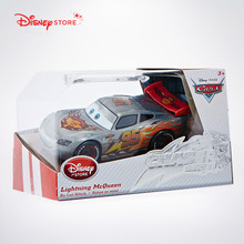 100% Original Disney Pixar Cars No.95 Silver Lightning Mcqueen Diecast Metal Toy Car For Children Gift 1:55 Loose New In Stock(China)