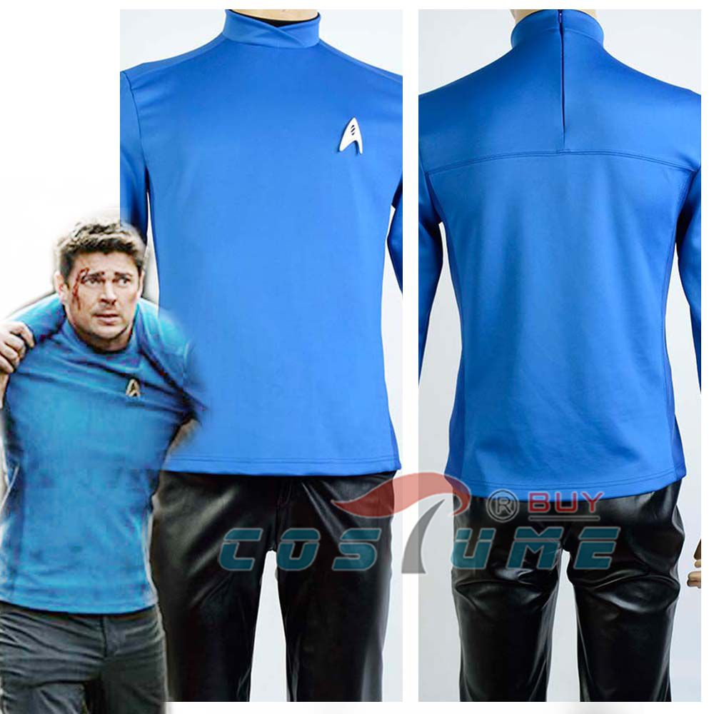 Star Trek Into Darkness Starfleet Kirk Spock Blue Cosplay