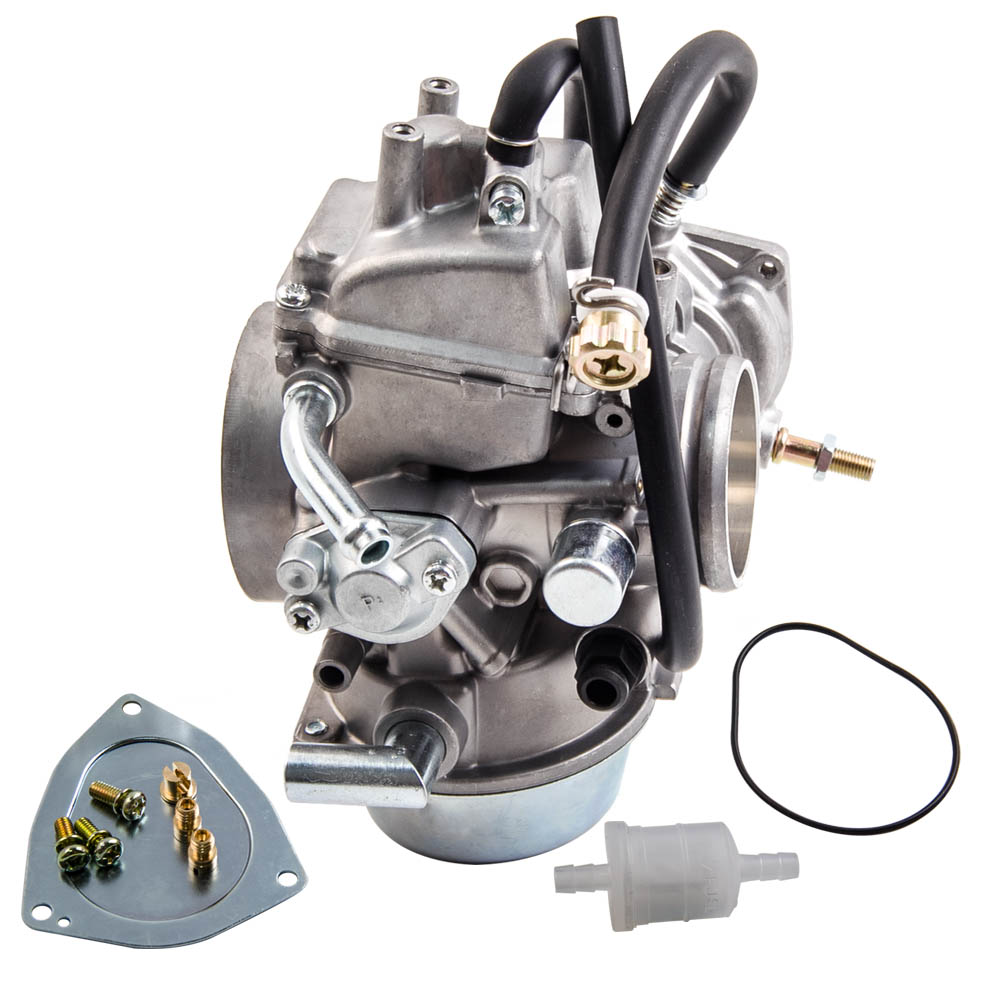 Parts Performance Carburetor with fuel filter for 1998-2001 Yamaha Grizzly 600 YFM 600 YFM600 2002-2008 Grizzly 660 YFM660 ATV Carb