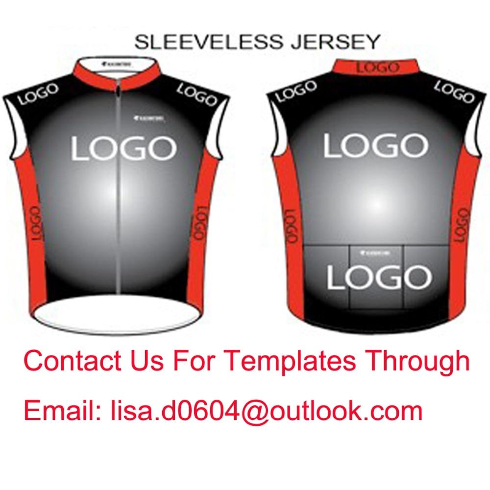 Custom Cycling Vest Sleeveless Jersey Bike Gilets Windproof Customize High Quality Lightly<br>