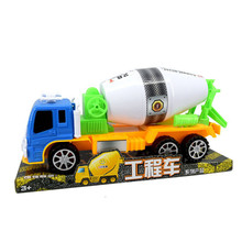 QICSYXJ Fashion Birthday Gift Supply Mega Truck Model 37cm Cement Mixer Truck Childrens Inertia Car Toy(China)