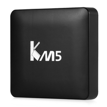 Mesuvida KM5 TV Box Quad Core Amlogic S905X Android 6.0 2.4G WiFi VP9 H.265 Multi-media Player 1GB 8GB CODI 17.0 Set-top Boxes(China)