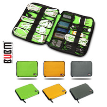 BUBM USB Cable Organizer Travel Carry Case Digital Gadget Devices Electronics Accessories Holder System Kit Case Earphone Bag