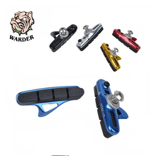 WARDER WBP-14 Road Bike Drawer Brake Pads Type C Rubber Replaceable Folding Bicycle Brake Blocks Parts