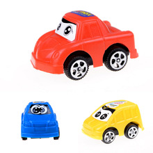 3Pcs/Set Random Color Baby Toys Mini Cars Plastic Cute Toy Cars for Child Wheels Mini Transportation Learning Funny Kids Toy