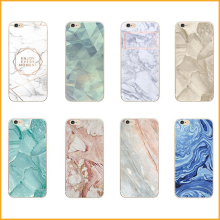 Marble Pattern Rubber Soft TPU Phone Back Case For iphone 5 5S 6 6S 6 6Plus 7 7 Plus Ultrathin Cellphone Bag Capa Coque XY4218