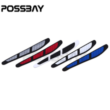 4 Pcs 5 Colors Car Anti-Collision Strip Bumper Protector Cover Anti-rub Crash Bar Door side Edge Protection Guards Stickers