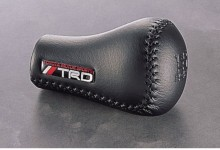 The Best Quality Japan TRD Black Leather 5 Speed Shift Knob Fit FRS AE86 SUPRA CELICA tC REIZ CAMRY(China)