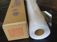Eco solvent / Latex / UV printer Use Transparent self adhesive vinyl paper, vinly sticker for outdoor advertising(China)