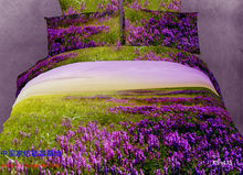 3D Purple green violet bedding set sets queen size duvet cover bed sheet sheets bedspread quilt 100% cotton beautiful(China)