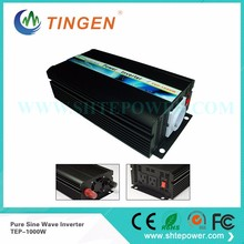 Off Grid 1000w DC12V/24V, AC110V/220V, Pure Sine Wave Solar Inverter or Wind Inverter, Surge 2000w, 50Hz/60Hz , Single Phase(China)