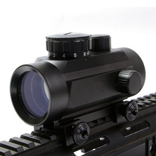 BSA Red Dot Scope 1x30 MOA Red Green Dot Sight Hunting Scope for 20mm Weaver Telescopic Rail Mount RD30/22SB E