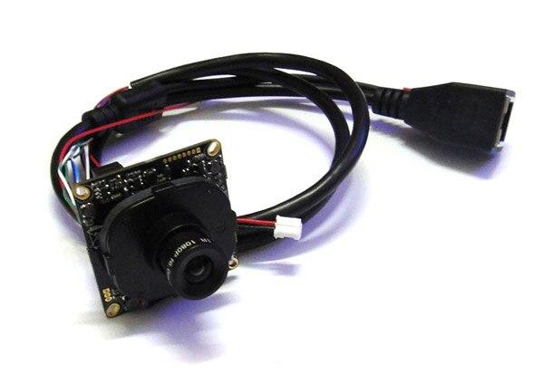 CCTV 1080P 2mp Full-HD IP Camera Module PCB Main Board 2.0mp Onvif P2P, Hisilicon, 3.6mm 3mp lens IR-Cut<br>