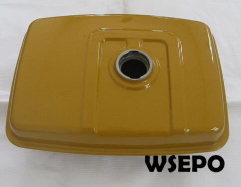Chongqing Quality! Fuel Tank Assy(with tag and cap) for EY28 air cooled 4 stroke 7.5HP Small Gasoline Engine<br>