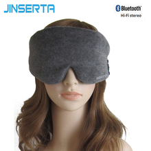 JINSERTA Wireless Sleep Headphones Soft Cotton Stereo Bluetooth Headset For Listenting Music Answering Phone Also Eye Mask