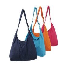 Messenger Bag Single Layer Leisure Bag Swagger Shopping Bag Foldable Waterproof Shoulder Bag Large Capacity Sac A Main 4 Colors