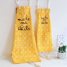 Japan Linen Cooking Lattice Kids Apron Funny Novelty BBQ Party Couple Love Apron Naked Men Women Cooking hildren Apron avental
