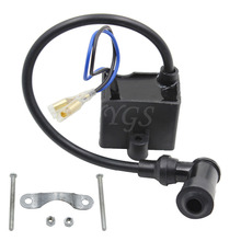 50cc 60cc 66cc 80cc CDI Ignition Coil 2-Stroke Bike Bicycle Motorcycle Motorized Engine Black New