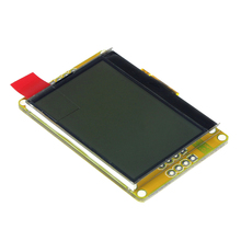 Smart Electronics 128 x64 LCD Amber Gold LED Backlight LCD 128 * 64 Panel(China)