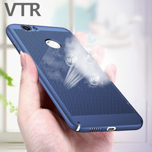 Heat Dissipation Phone Hard Back PC Case For Huawei P9 P10 Lite P8 Lite 2017 Protective Cases For Huawei P8 P9 P10 P9 Plus Cover(China)