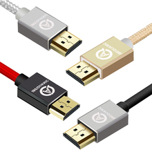HDMI to HDMI cable 1M 2M 3M 5M High Resolution 4K 60Hz Apply to for HD, TV LCD, Laptop, PS3 Projector Computer(China)
