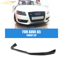 A5 Carbon Fiber Front Lip Chin Spoiler Fit For Audi A5 Coupe Sportback 2-Door 4-Door Non-Sline 2010-2011 Car Styling