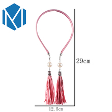 Women Fashion Tassel Headband Hair Hoop Girls Stylish Hairband Pearl Elegant Hair Band Accessories Female Wedding Head Trinket(China)
