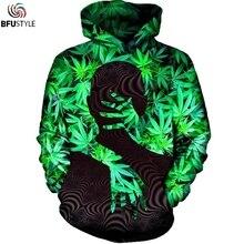 Weed Leaf Hoodie Hoodies Men Women 2017 New Fashion Autumn Sportswear Tracksuit Casual Pullovers Hooded Sweatshirt Dropship
