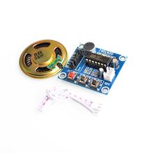 ISD1820 recording module voice module the voice board telediphone module board with Microphones + Loudspeaker for